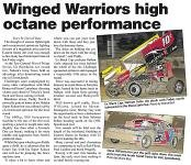 Winged Warriors high octane performance