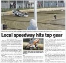 Local speedway hits top gear