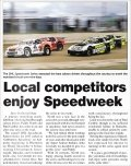 Local competitors enjoy Speedweek