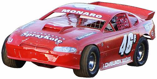 Click to view the Paddy North Racing 2004 LRC Monaro Specs